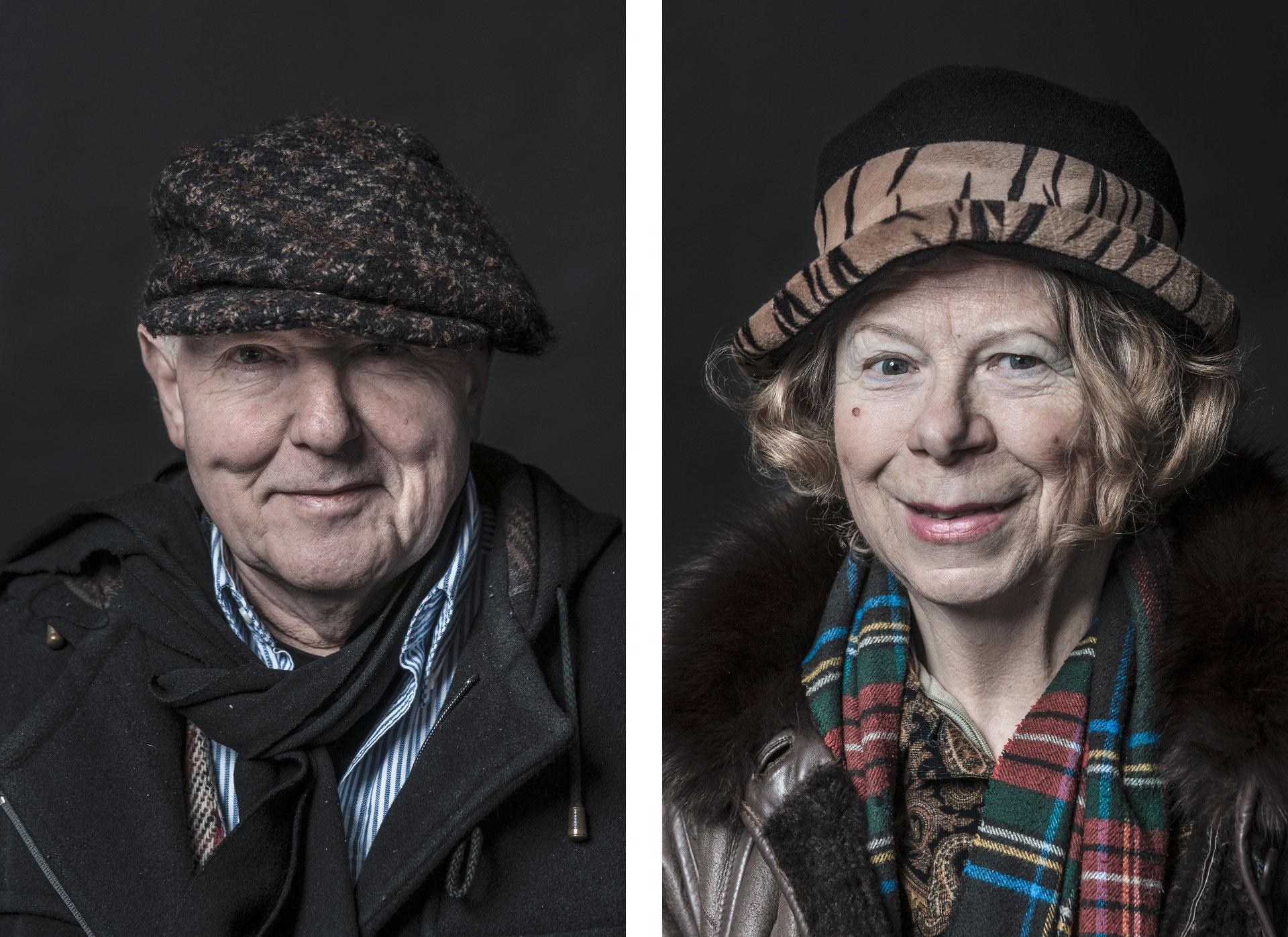 Die Portraitserie Just a Moment sind an einem Tag ungeschminkt und mit nur 1-maximal 3 Belichtungen entstanden