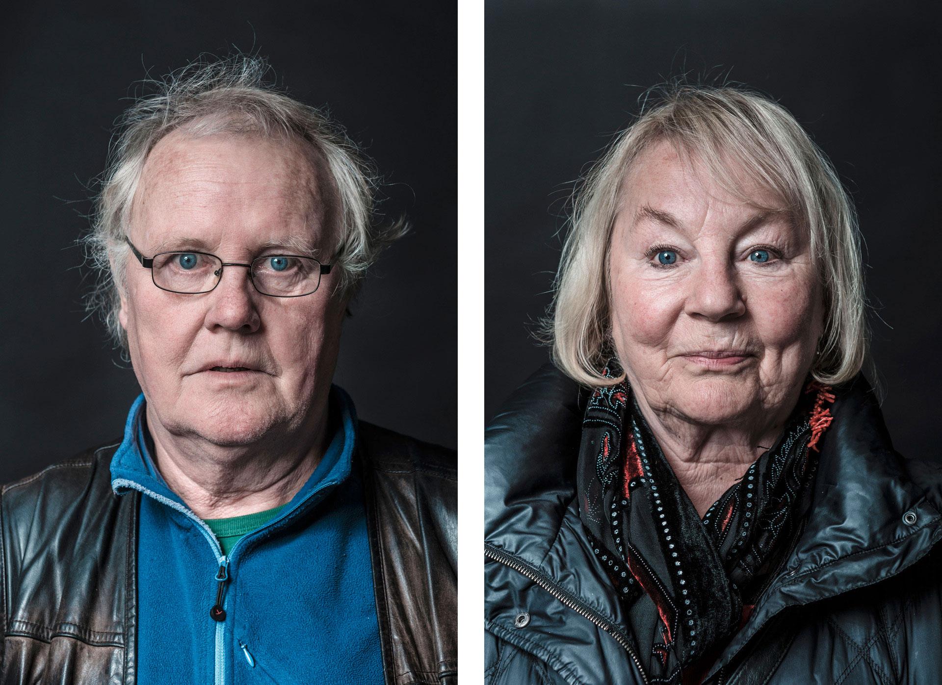 Die Portraitserie Just a Moment sind an einem Tag ungeschminkt und mit nur 1-3 Belichtungen entstanden