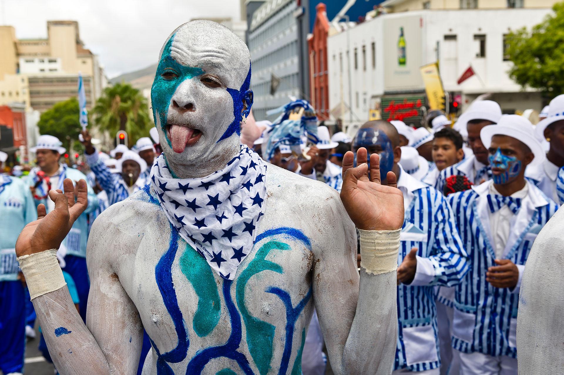 Afrika Süd Afrika Kapstadt Stadtteil Bo-Kaap Kapmalaien Malaienviertel Malay Quarter Fest Neujahrsfest Parade Coon Karneval