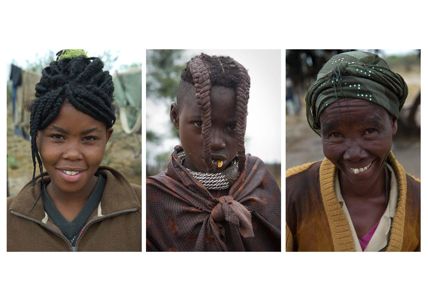 Himba Frauen in Namibia