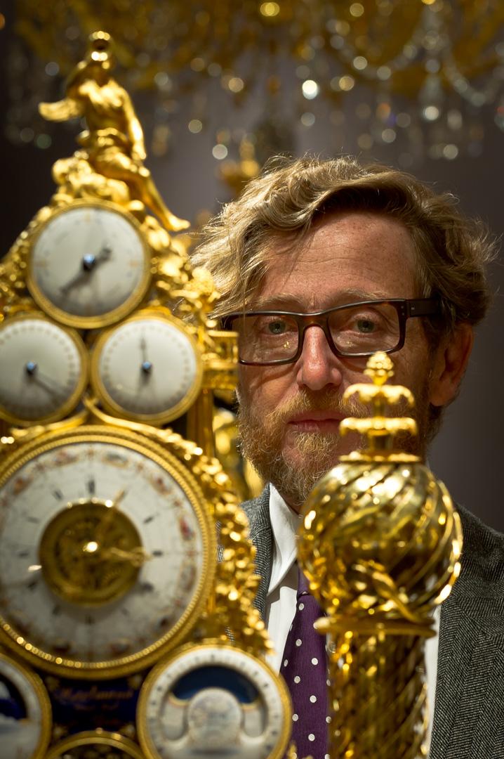 Portrait des Antiquitätenhändlers Christophe Guerin aus Paris auf der TEFAF in Maastricht 2012