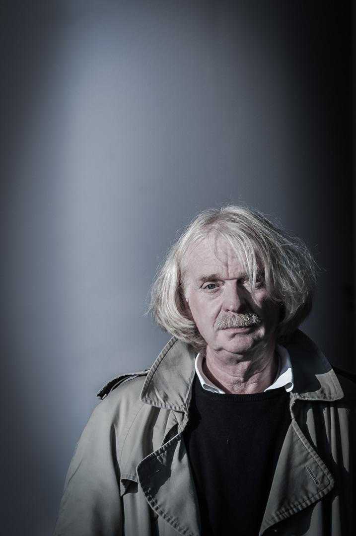 Portrait des Buchautors und Profilers bei der Bremer Kriminalpolizei Axel Petermann