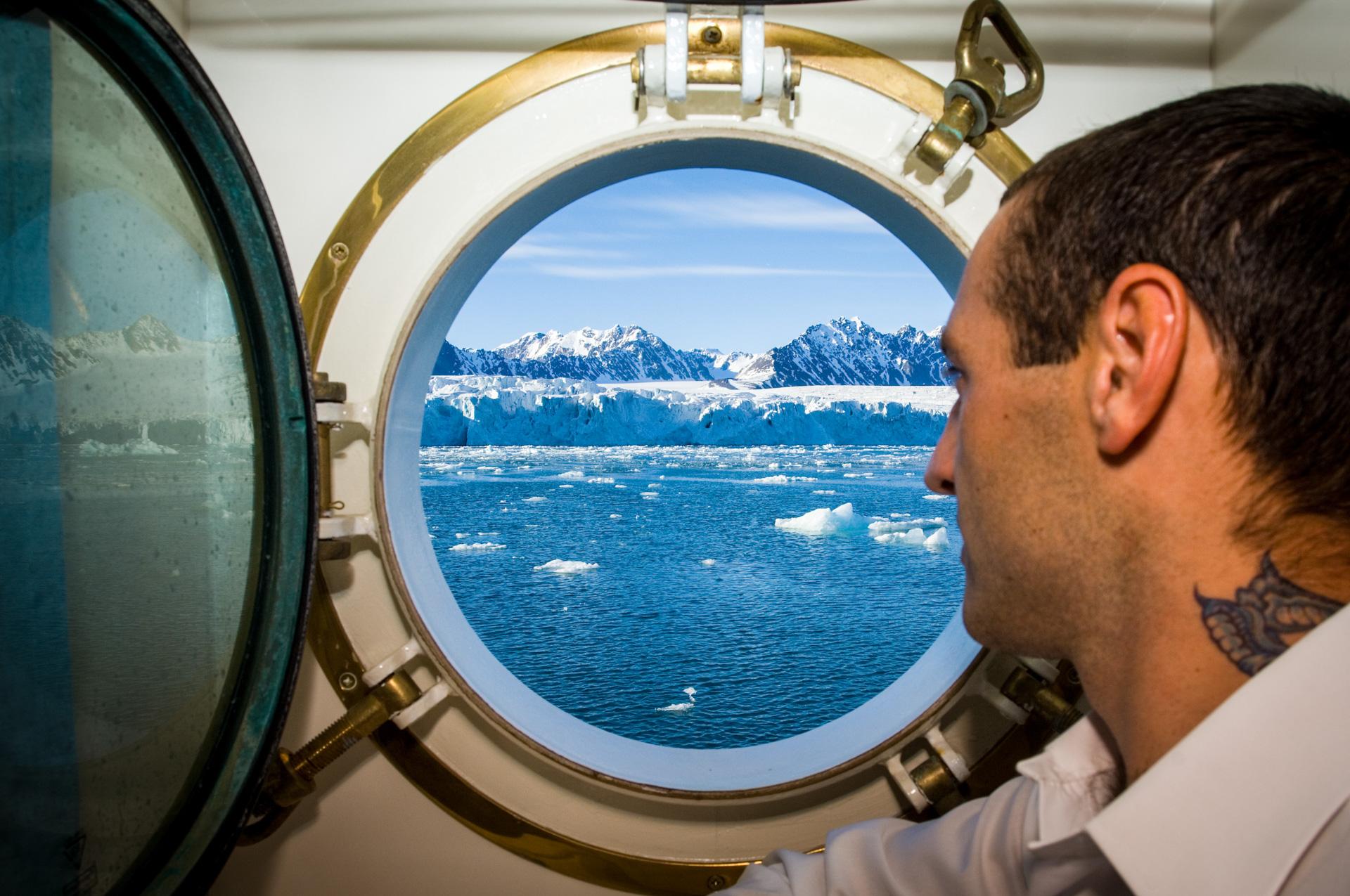 Arktis eine Reise entlang der Küste und den Gletschern von Spitzbergen