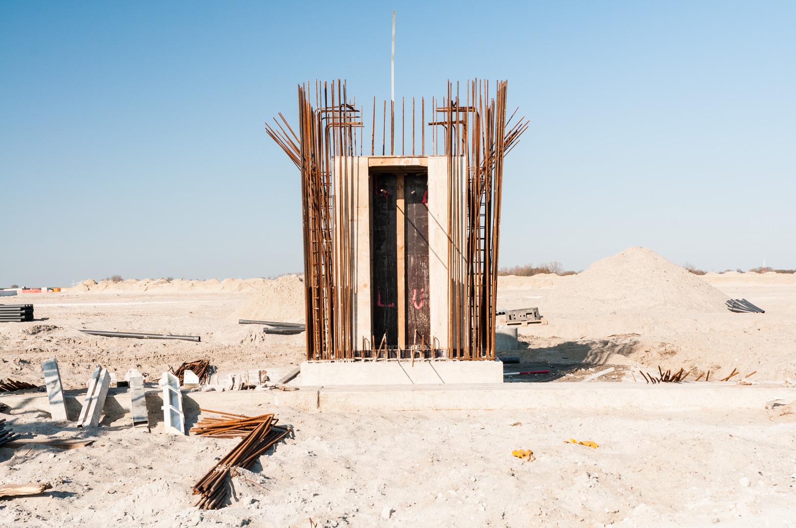 CT4 Bremerhaven Construction site
