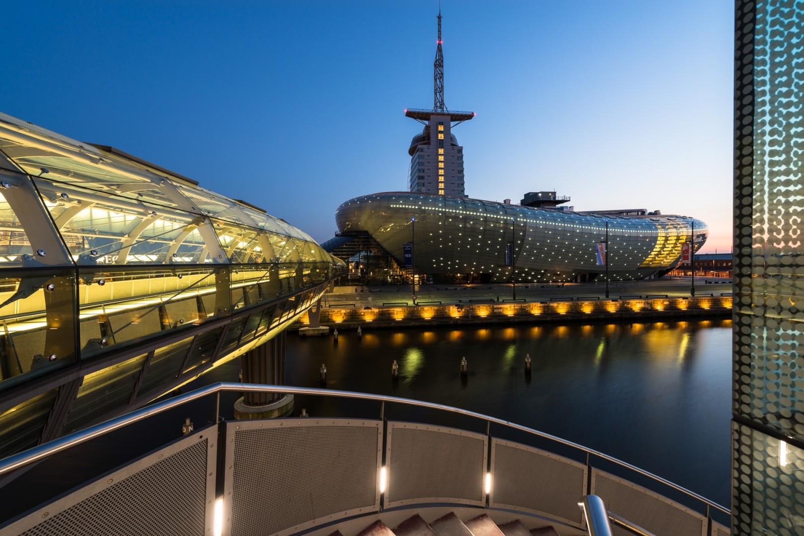 Das Klimahaus in Bremerhaven/Havenwelten