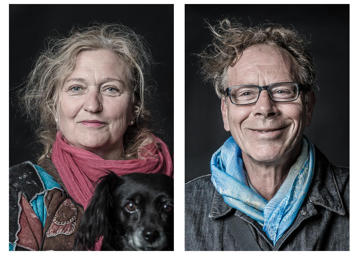 Portraitserie zum Thema Just A Moment