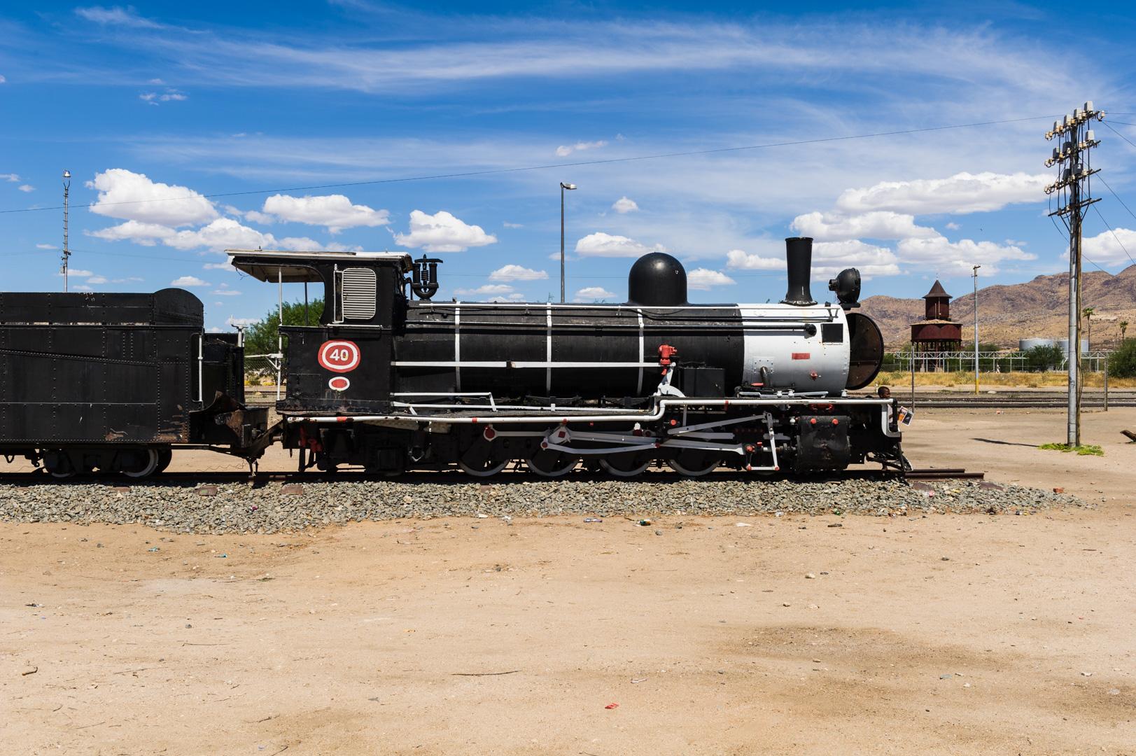 Afrika Namibia Erongo Usakos Railway Dampflokomotive Dampflok