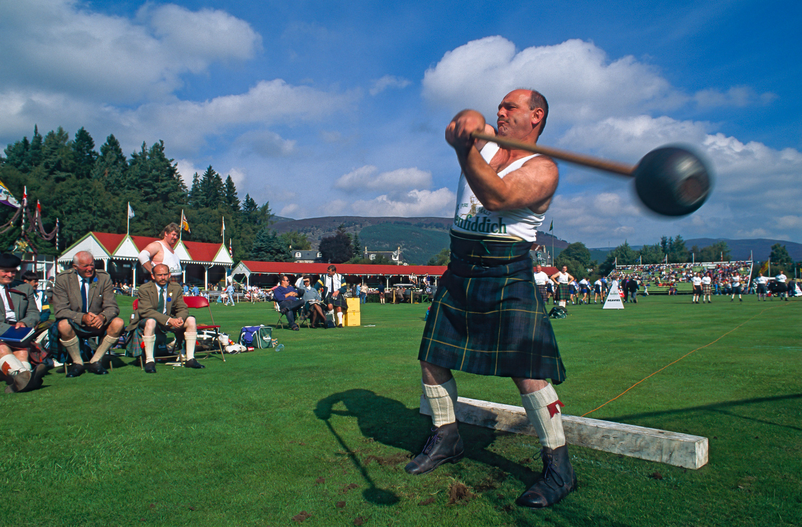 UK-Scotland Highland Games Braemar England in Schottland im Ort Braemar
