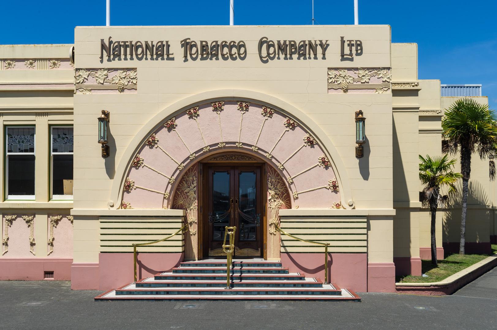 NZ-New Zealand Northisland Stadt Napier Architektur Art Deco Neuseeland Nordinsel