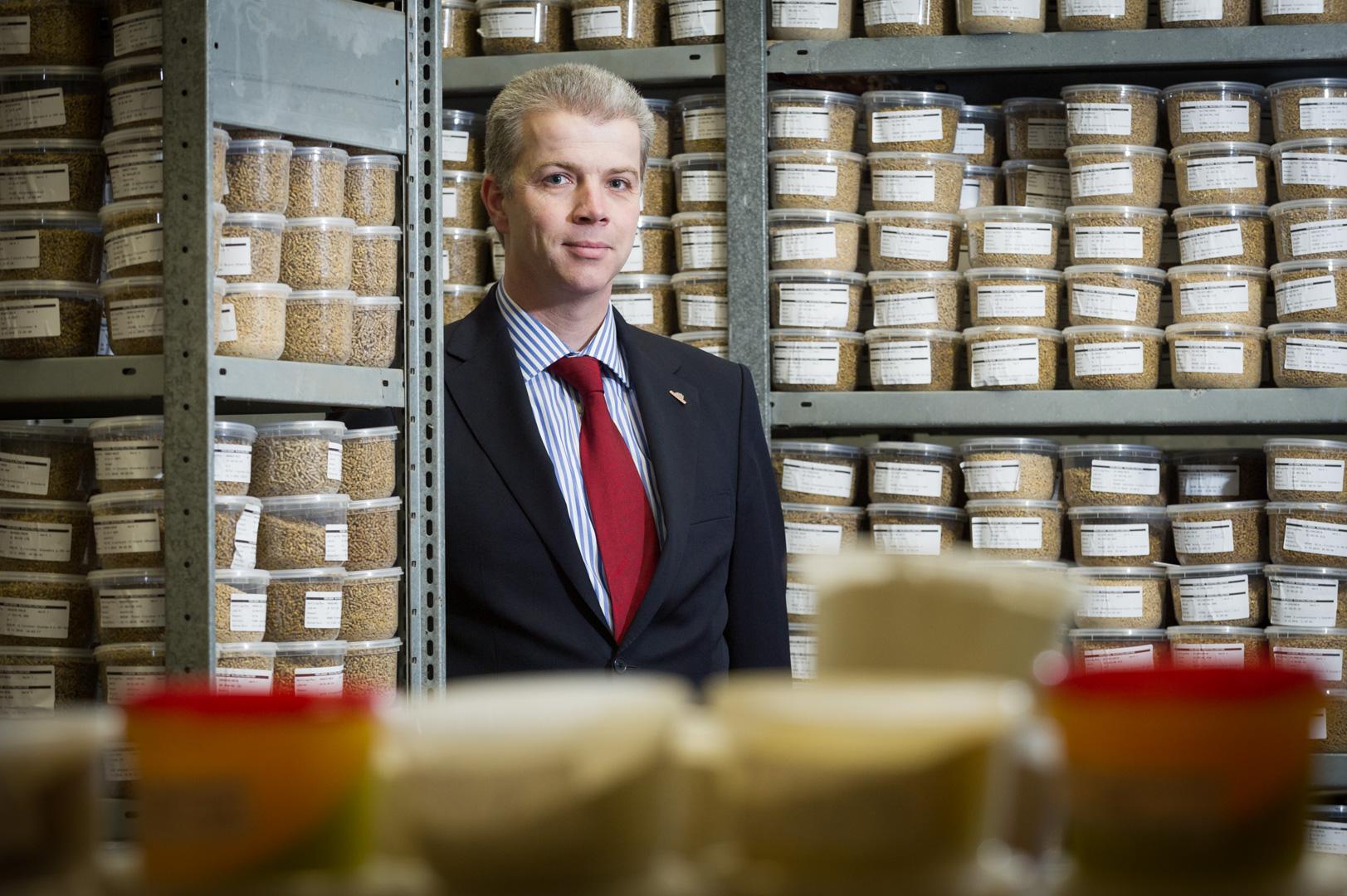 Portrait des Geschäftsführer von Wiesenhof dem Geflügelzüchter