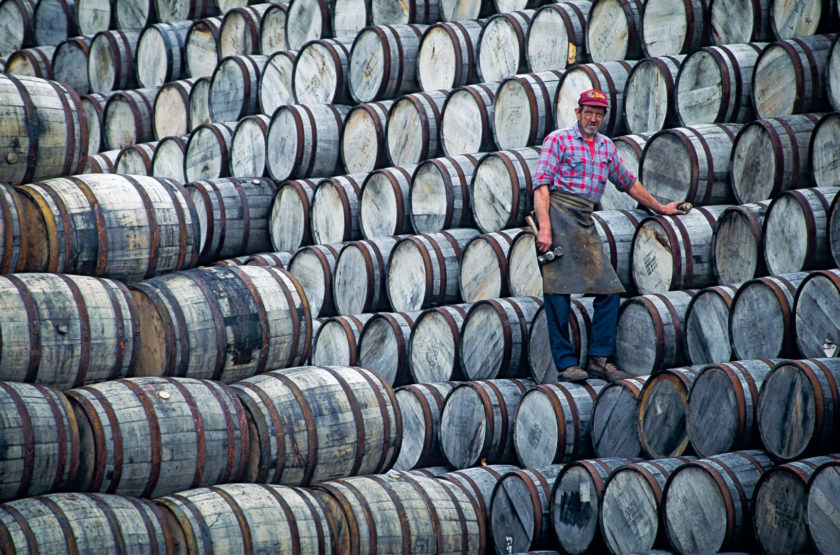 Barrels and Whiskey