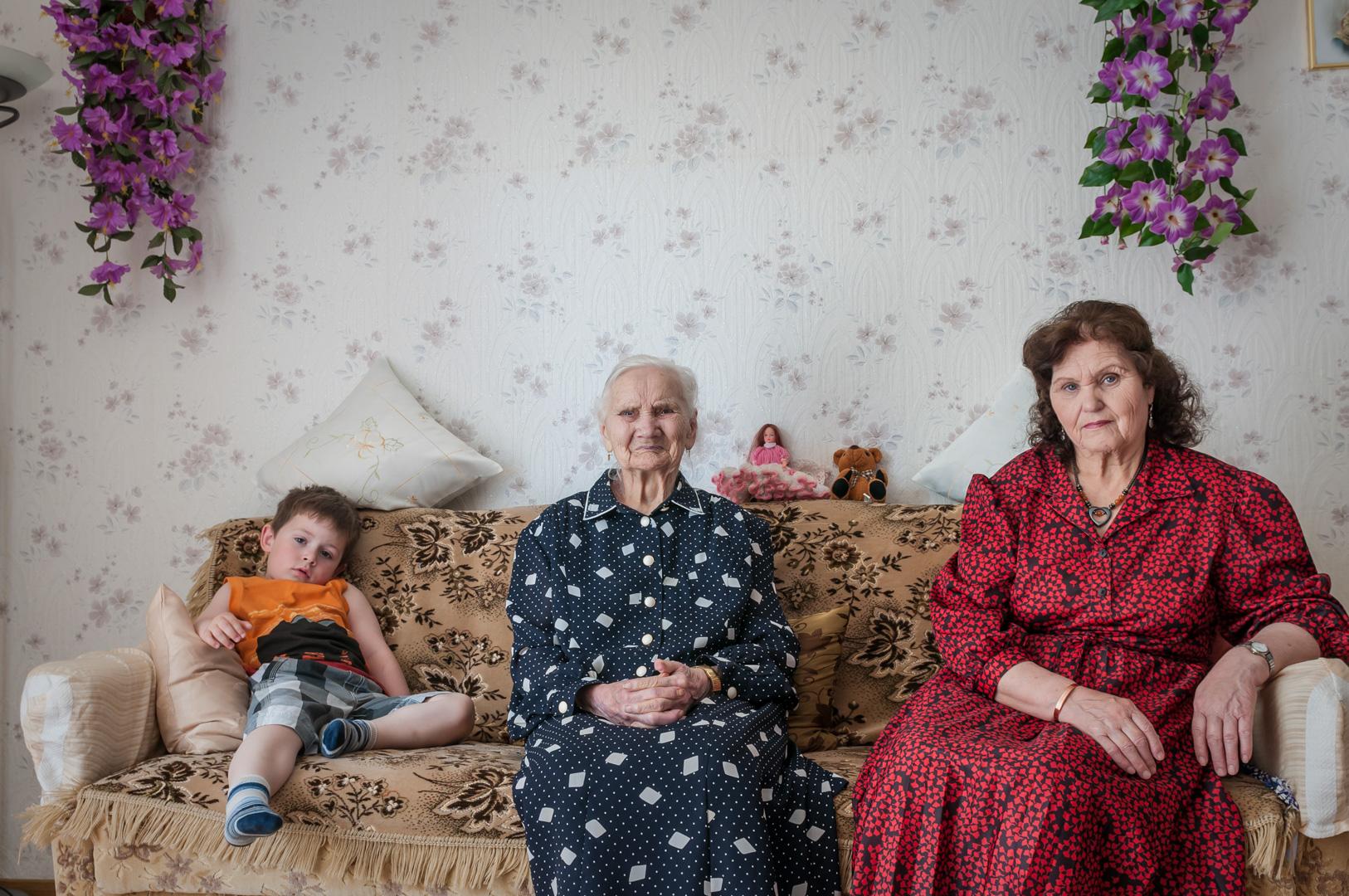 Niedersachsen in Verden lebende Migrantenfamilie aus Odessa und Sibirien haben sich die Russlanddeutschen integriert