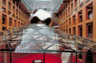 Architekt, Berlin, Deutschland, DZ-Bank, Europa, Frank O`Gehry, Pariser Platz, Skulptur