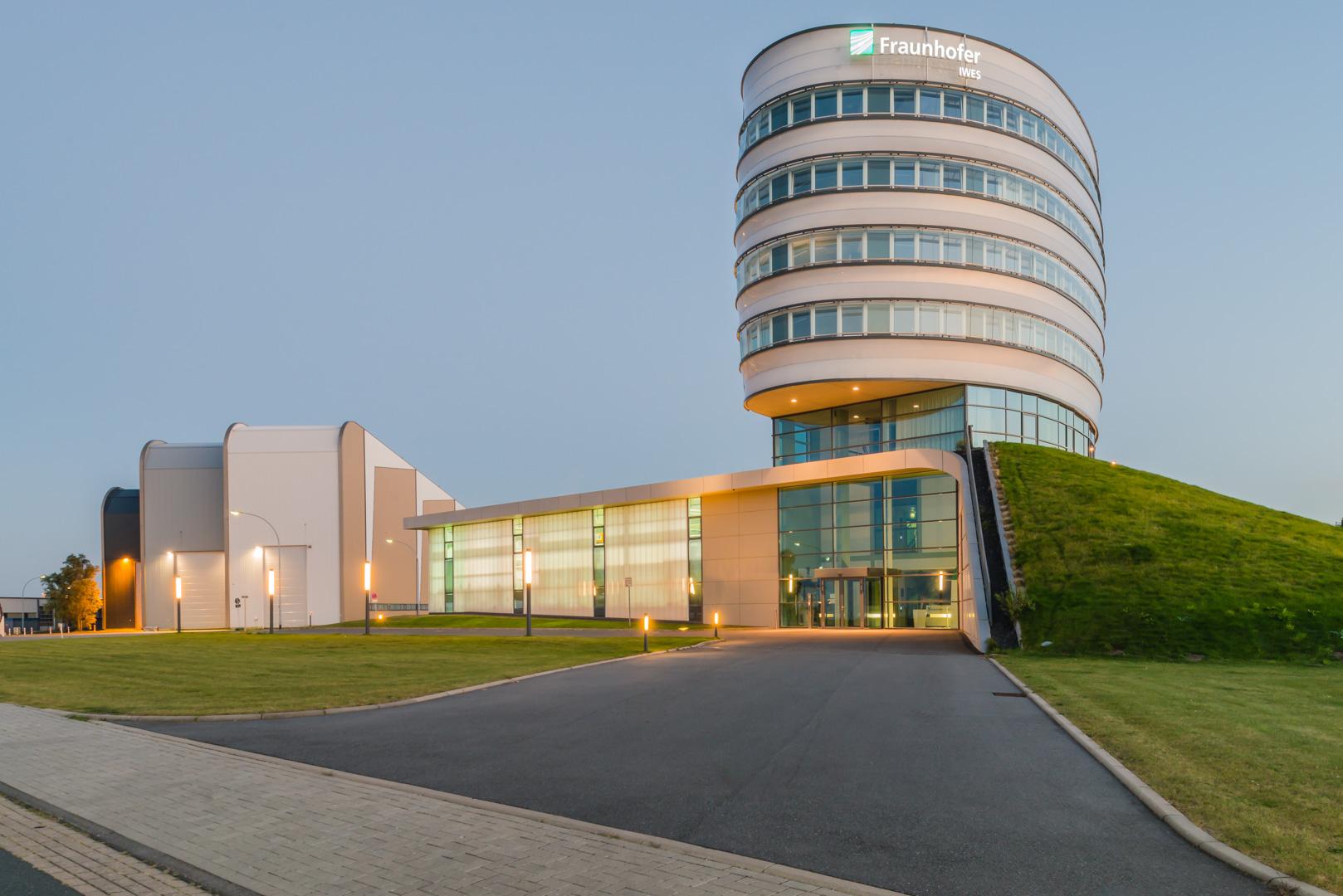 Das Fraunhofer Institut für Windenergie in Bremerhaven