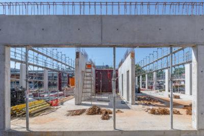 Baustelle Beton
